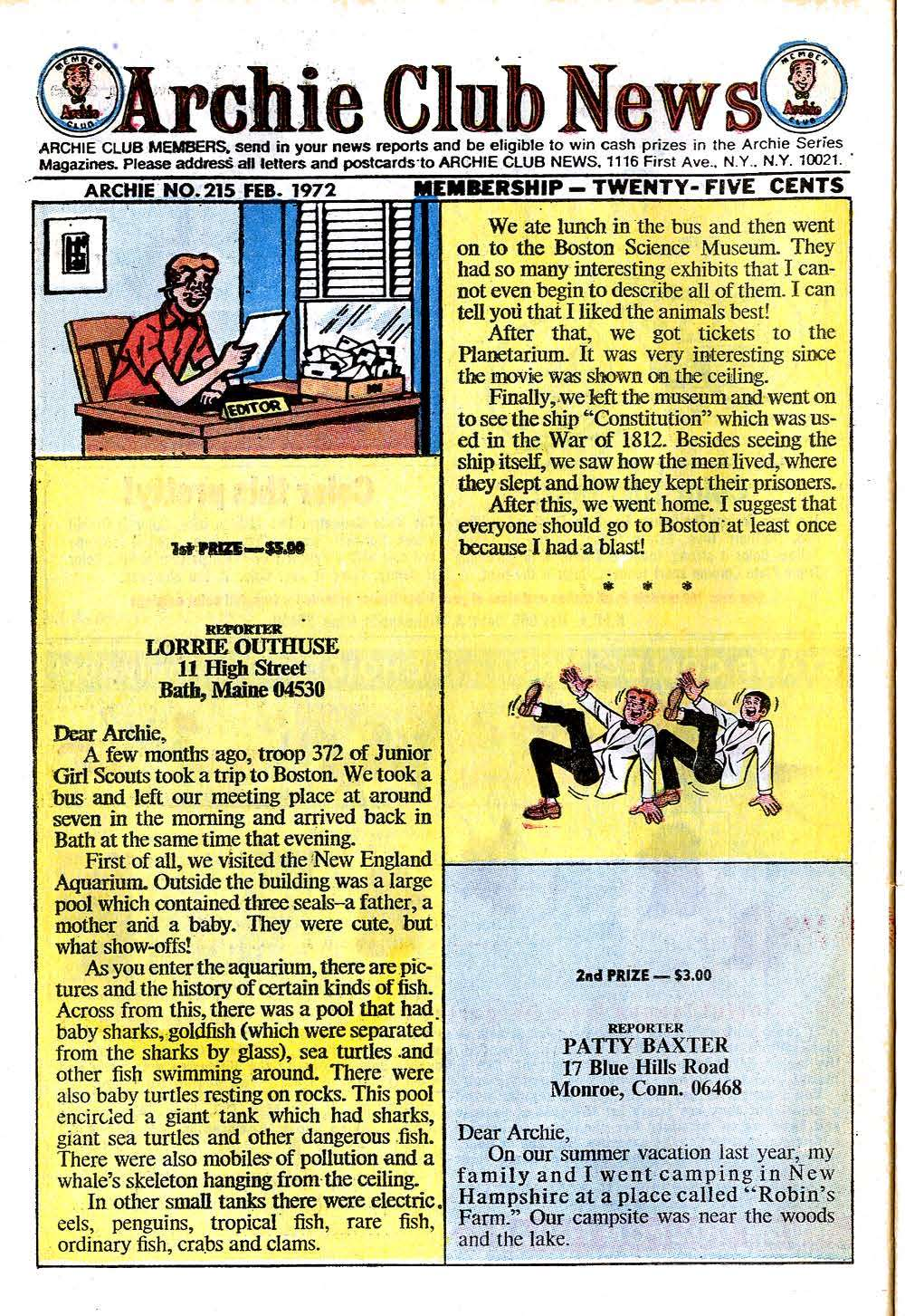 Read online Archie (1960) comic -  Issue #215 - 26