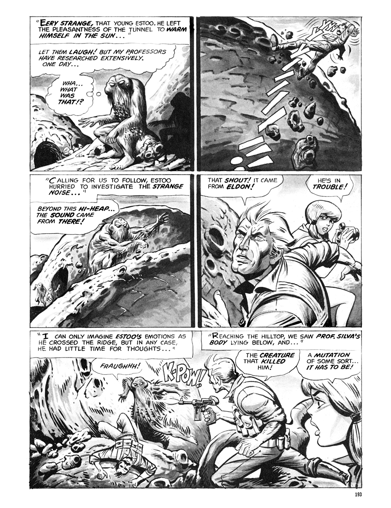 Read online Eerie Archives comic -  Issue # TPB 6 - 193