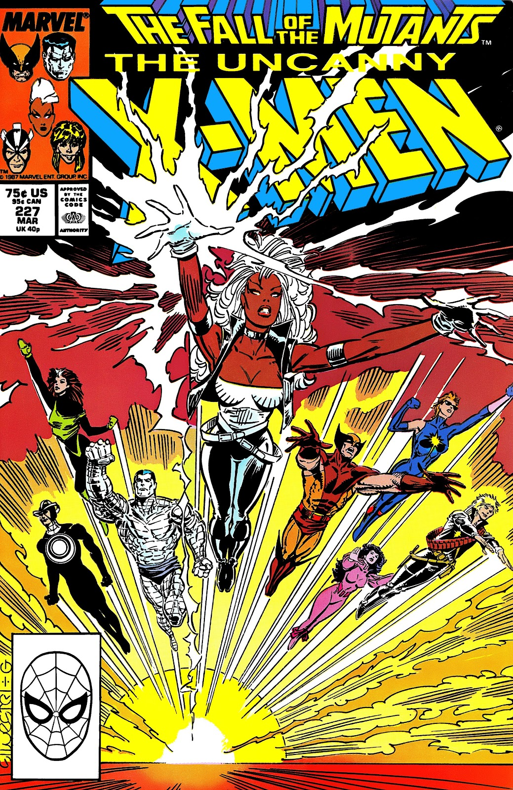 Uncanny X-Men (1963) issue 227 - Page 1