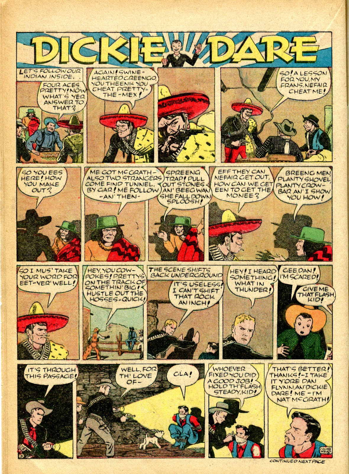 Read online Famous Funnies comic -  Issue #54 - 28