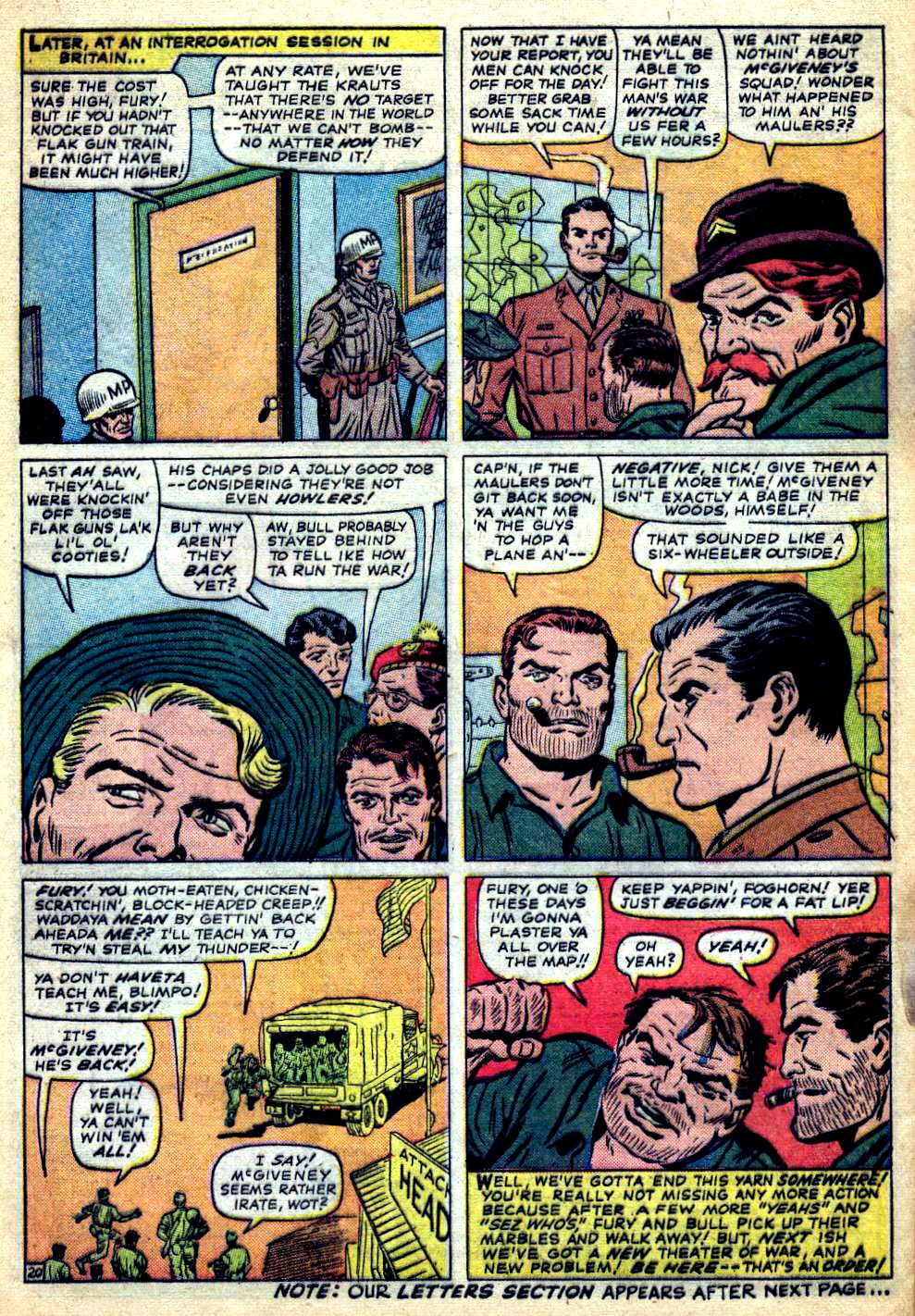Read online Sgt. Fury comic -  Issue #22 - 28