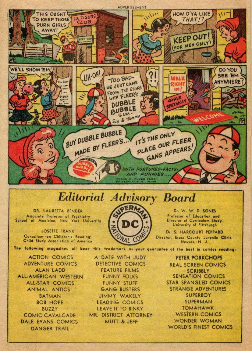 Read online Sensation (Mystery) Comics comic -  Issue #100 - 41