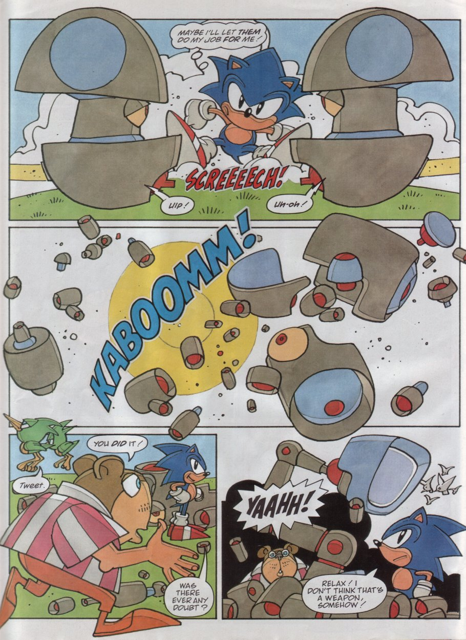 Read online Sonic the Comic comic -  Issue #118 - 30