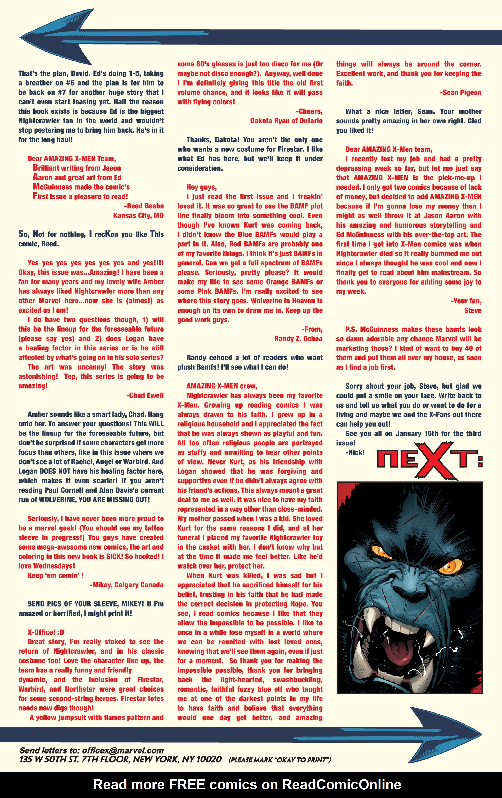 Read online Amazing X-Men (2014) comic -  Issue #2 - 22