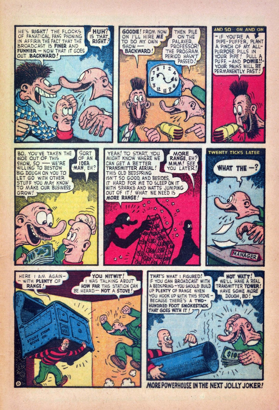 Read online Joker Comics comic -  Issue #18 - 33