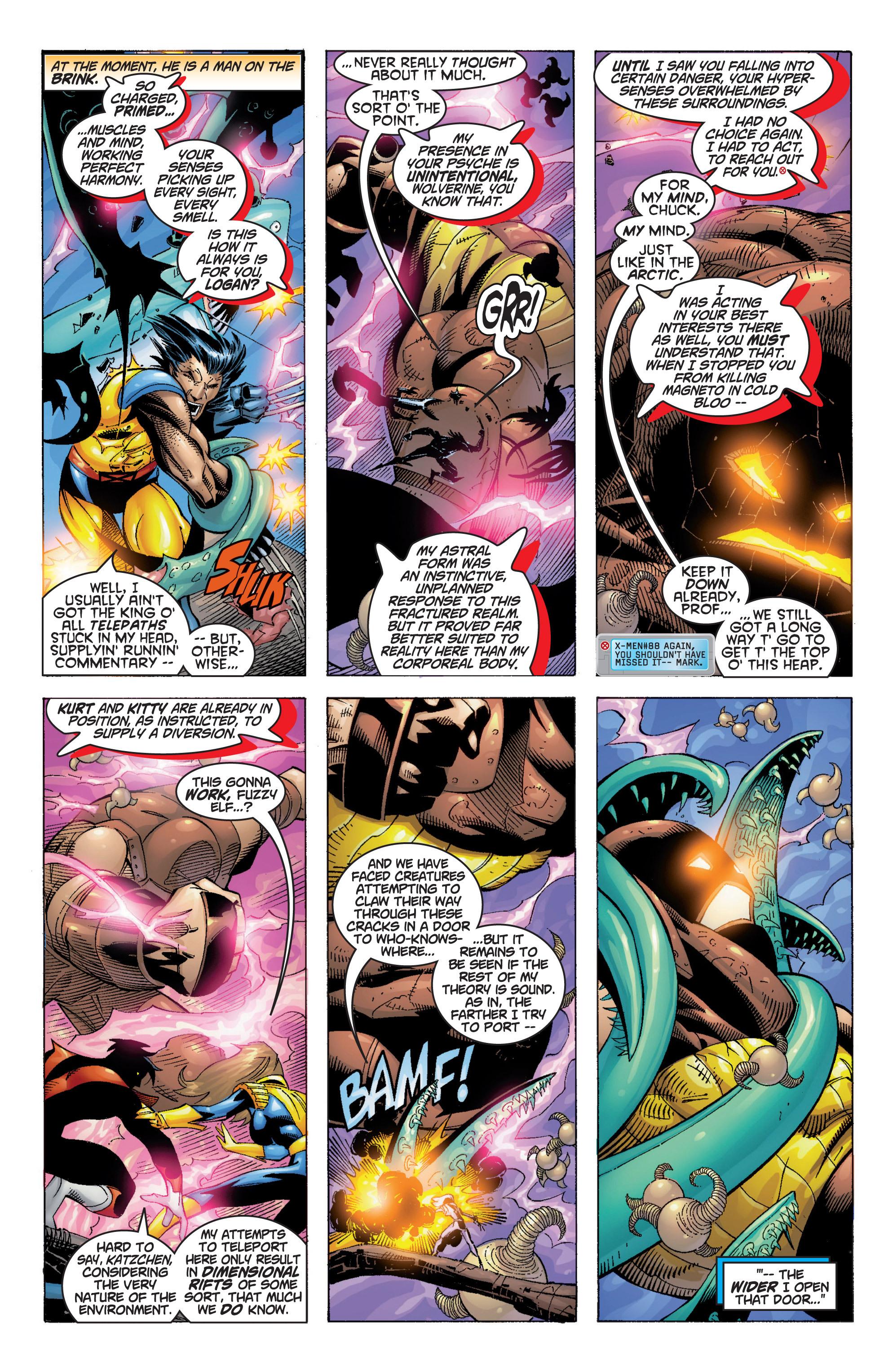 Read online Uncanny X-Men (1963) comic -  Issue #369 - 5