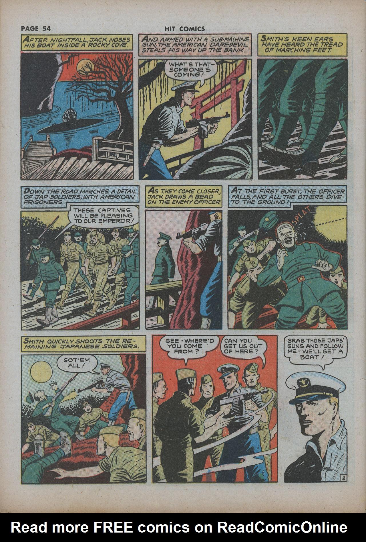 Read online Hit Comics comic -  Issue #22 - 56