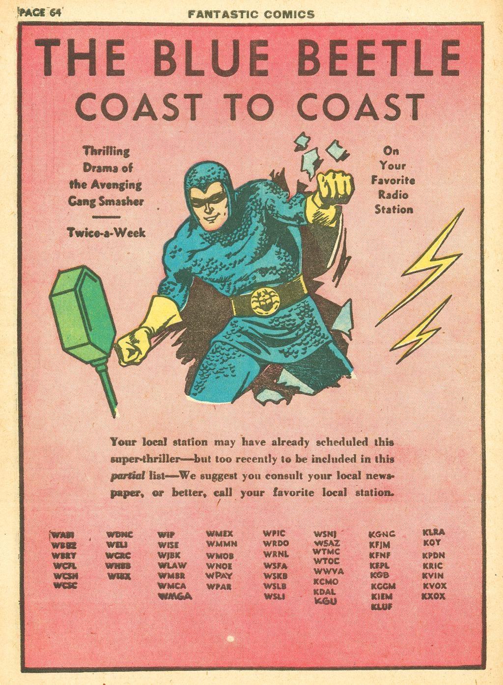 Read online Fantastic Comics comic -  Issue #12 - 66
