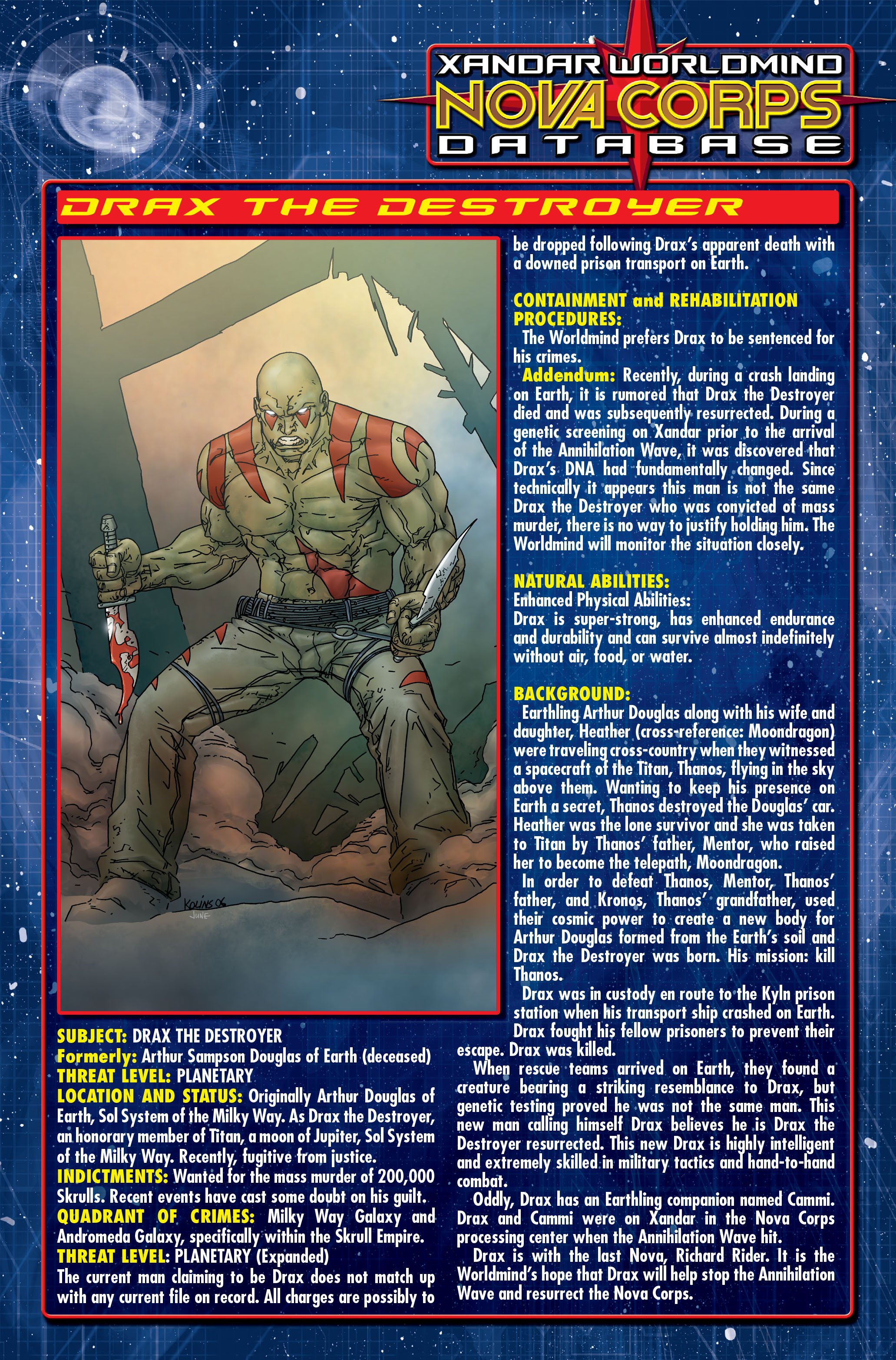Read online Annihilation: Nova comic -  Issue #2 - 24