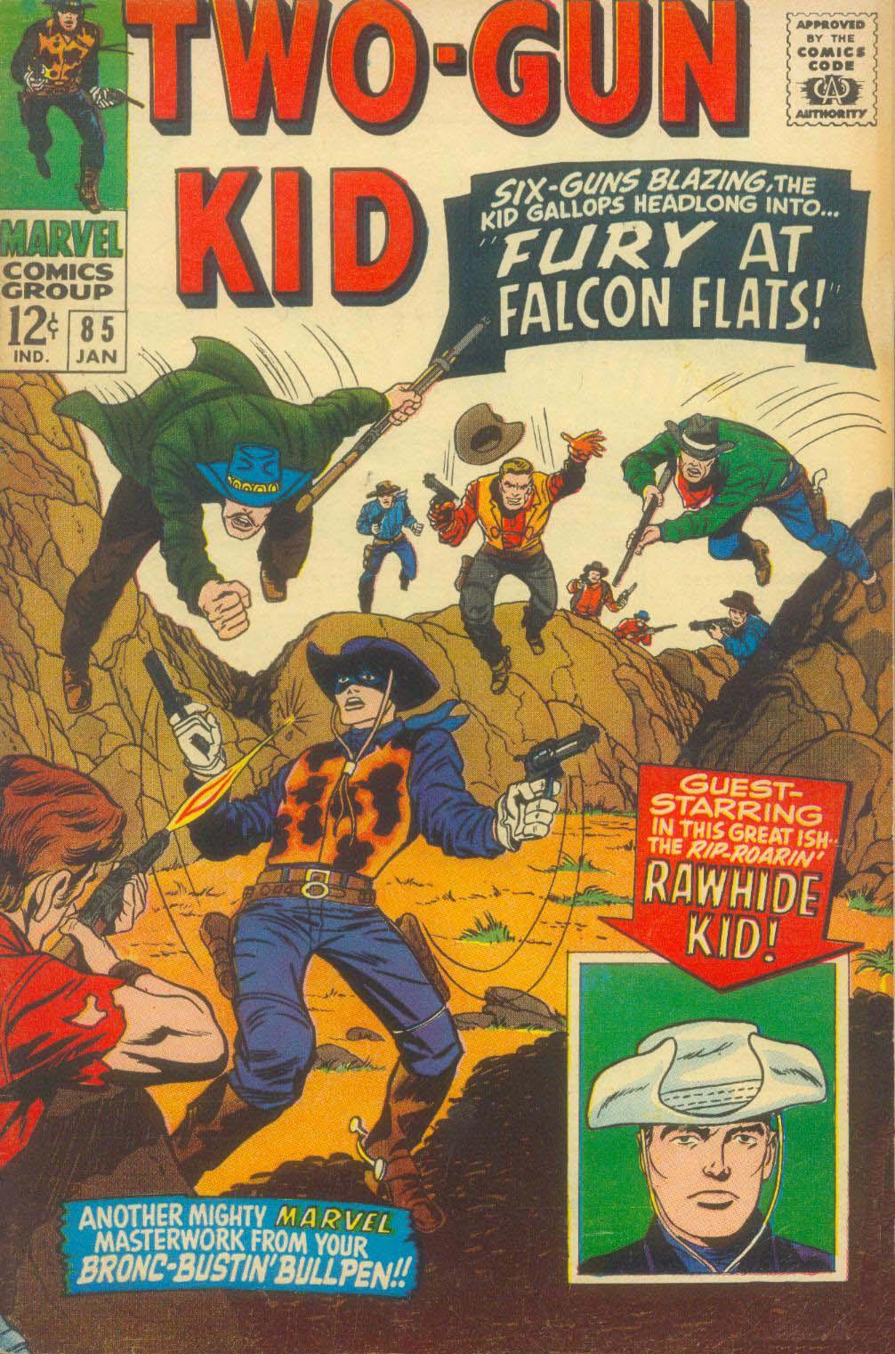 Read online Two-Gun Kid comic -  Issue #85 - 2