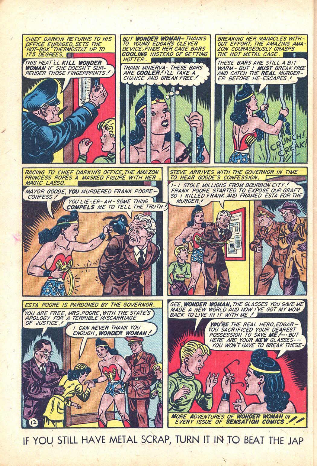Read online Sensation (Mystery) Comics comic -  Issue #34 - 14