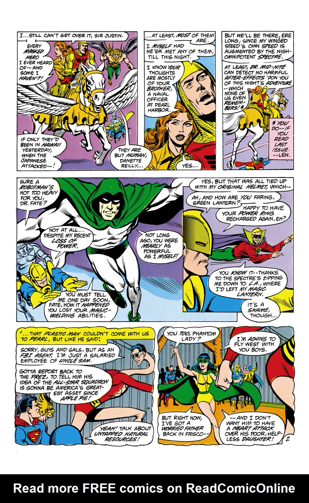 Read online All-Star Squadron comic -  Issue #4 - 3