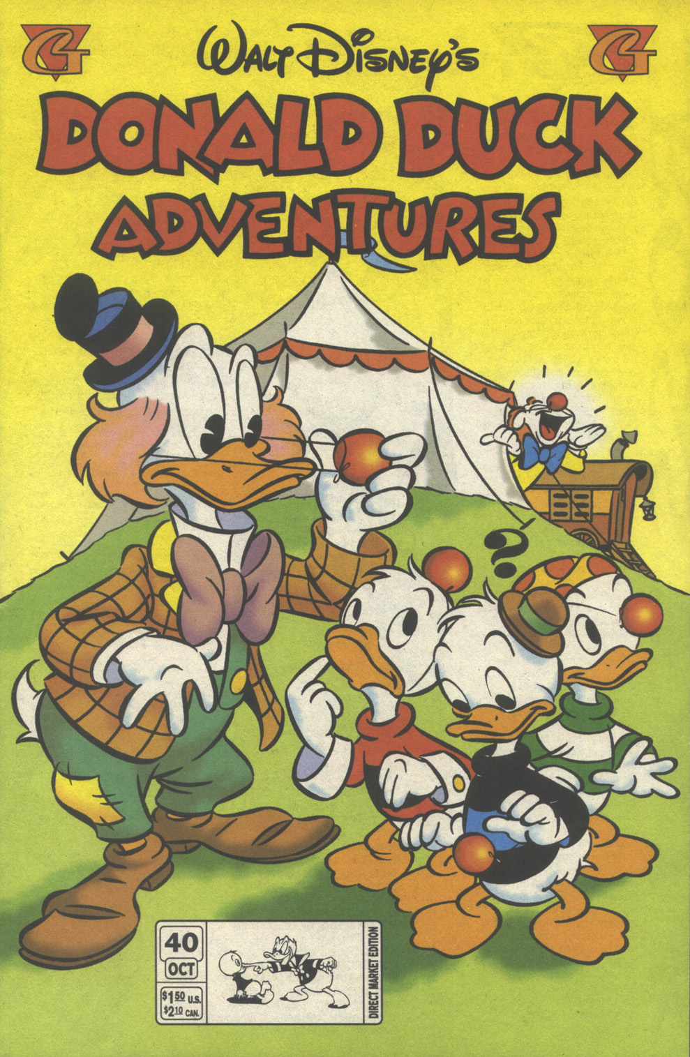 Walt Disney's Donald Duck Adventures (1987) issue 40 - Page 1