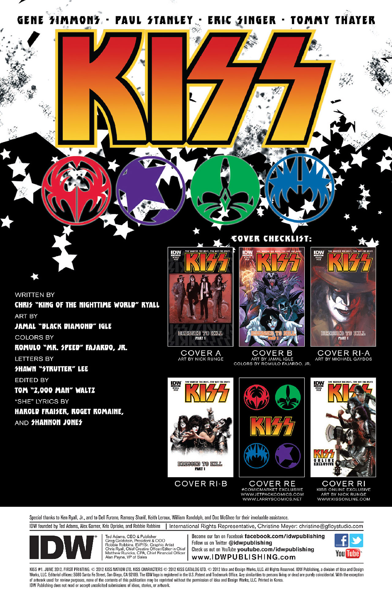 Read online KISS (2012) comic -  Issue #1 - 3