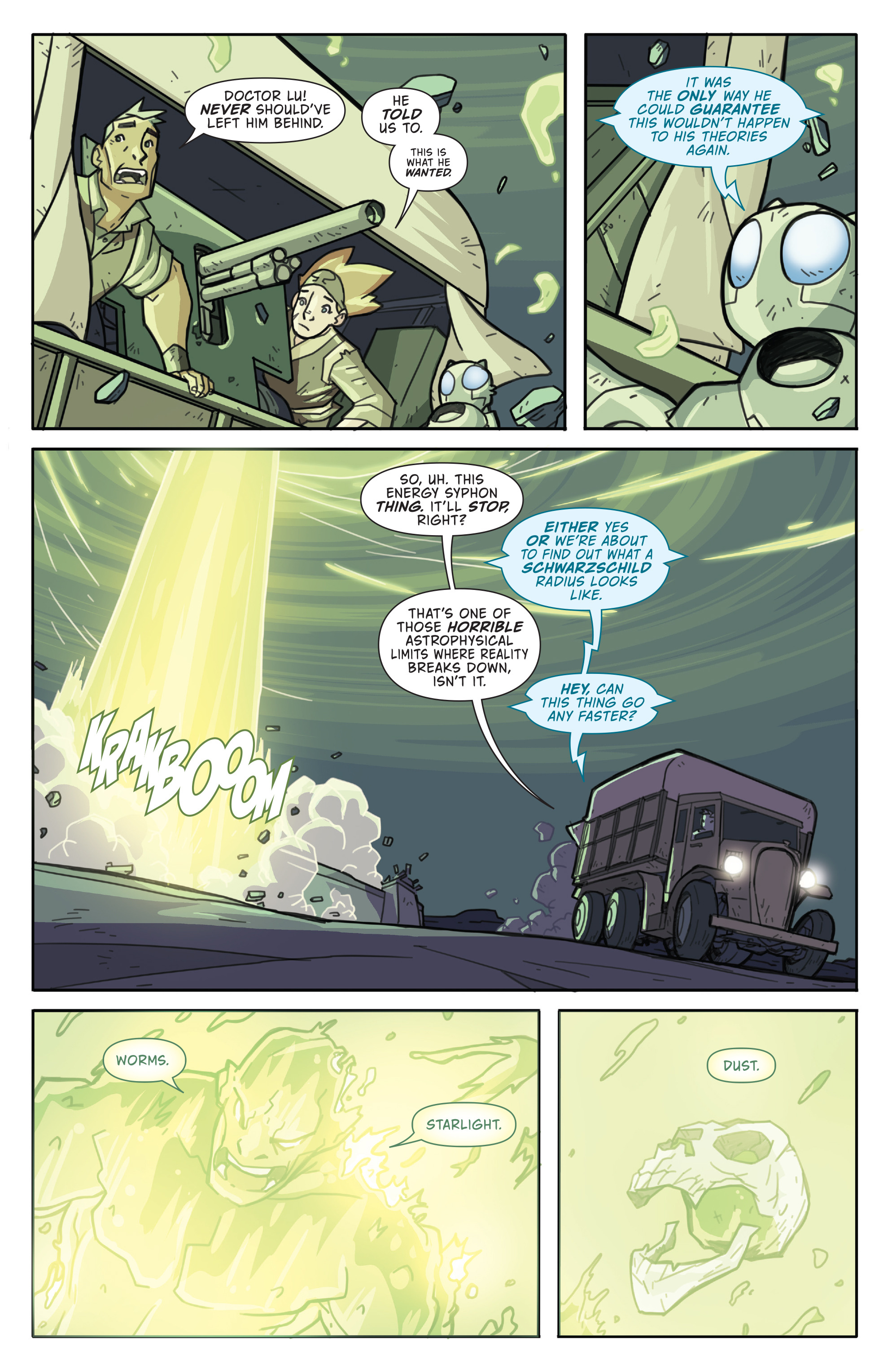 Read online Atomic Robo and the Temple of Od comic -  Issue #5 - 21