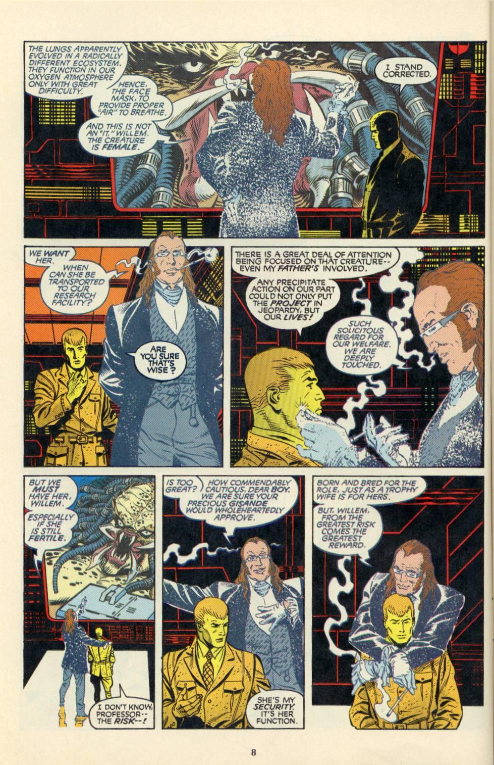 Read online Aliens/Predator: The Deadliest of the Species comic -  Issue #4 - 9