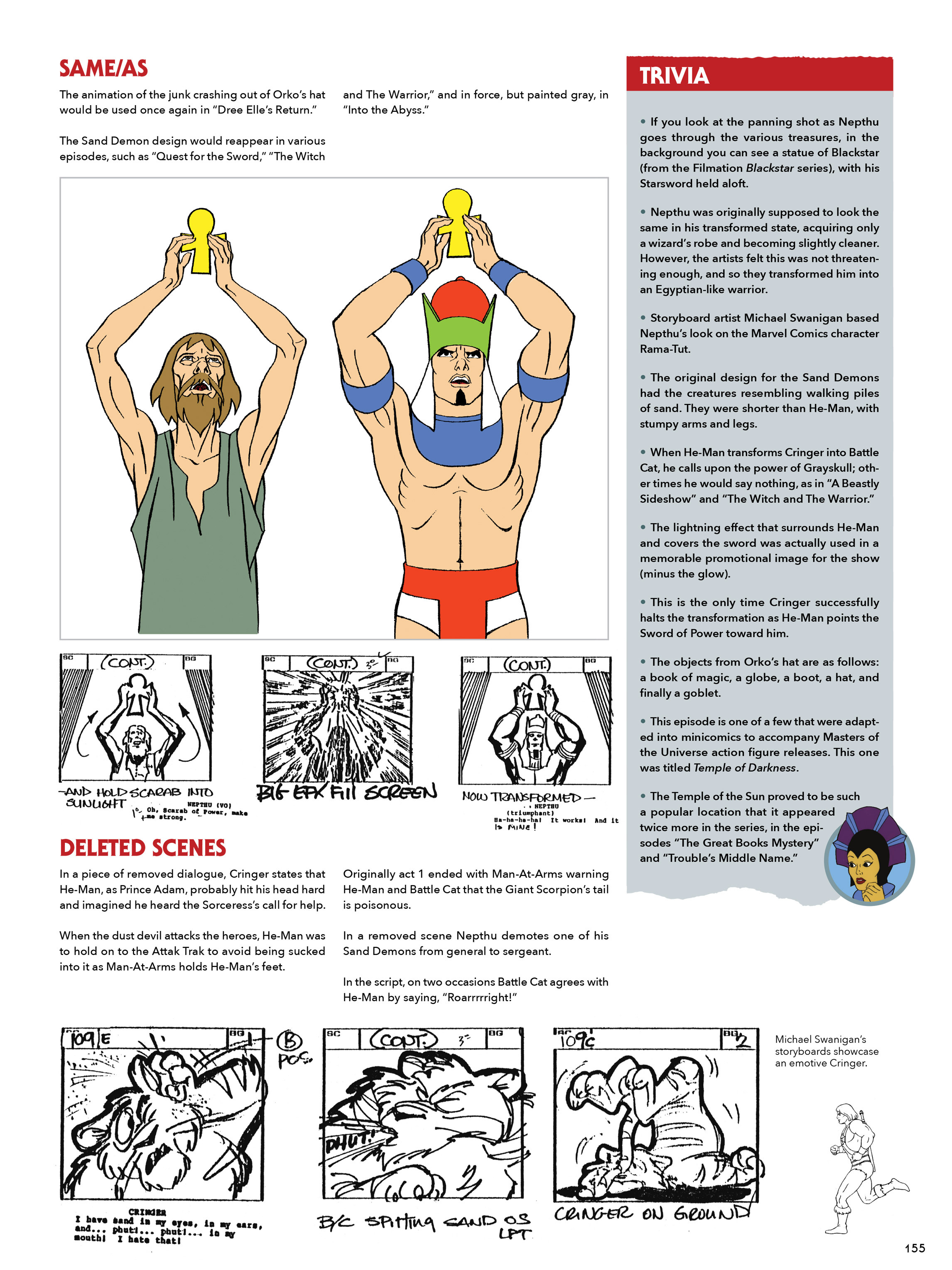 Read online He-Man and She-Ra: A Complete Guide to the Classic Animated Adventures comic -  Issue # TPB (Part 1) - 155