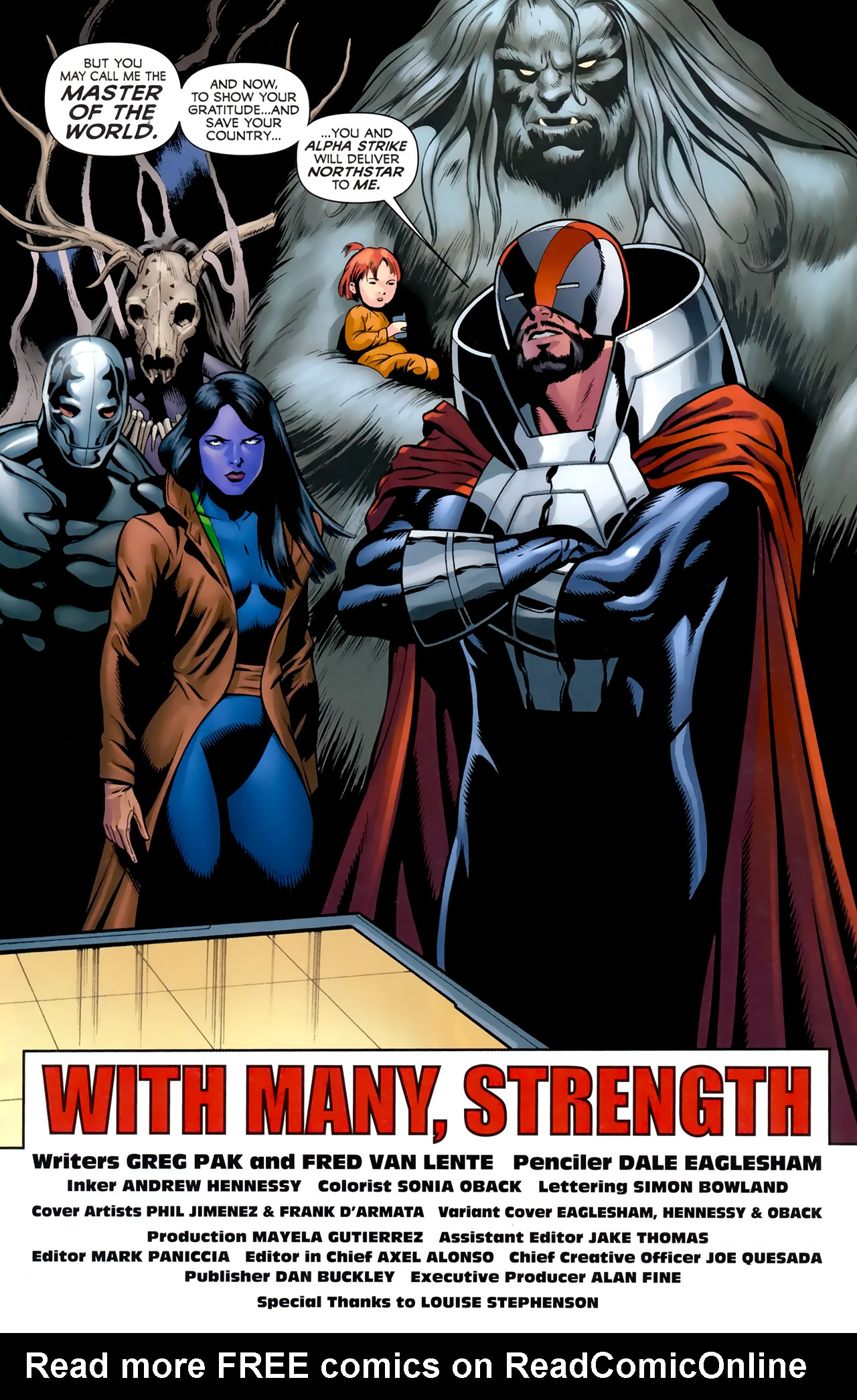 Read online Alpha Flight (2011) comic -  Issue #4 - 23
