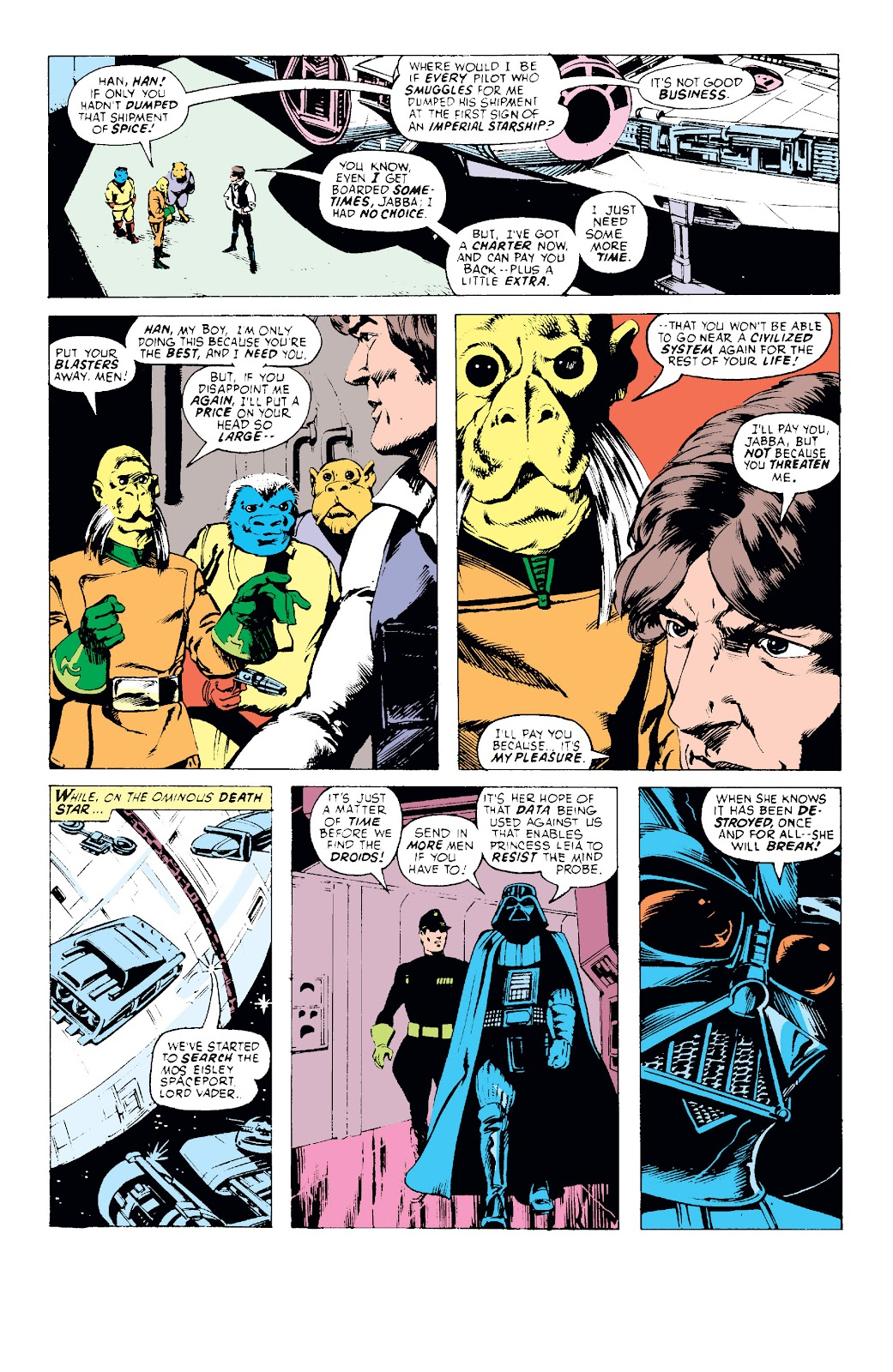 Read online Star Wars Legends: The Original Marvel Years - Epic Collection comic -  Issue # TPB 1 (Part 1) - 38