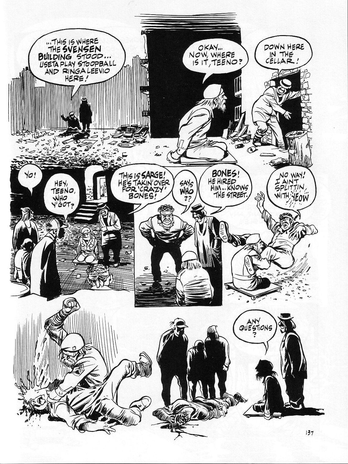 Read online Dropsie Avenue, The Neighborhood comic -  Issue # Full - 139