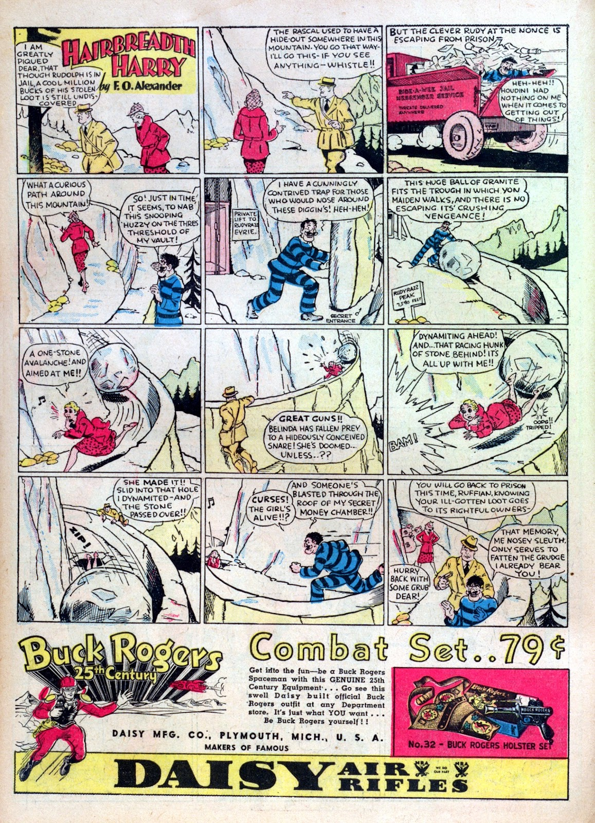 Read online Famous Funnies comic -  Issue #10 - 16