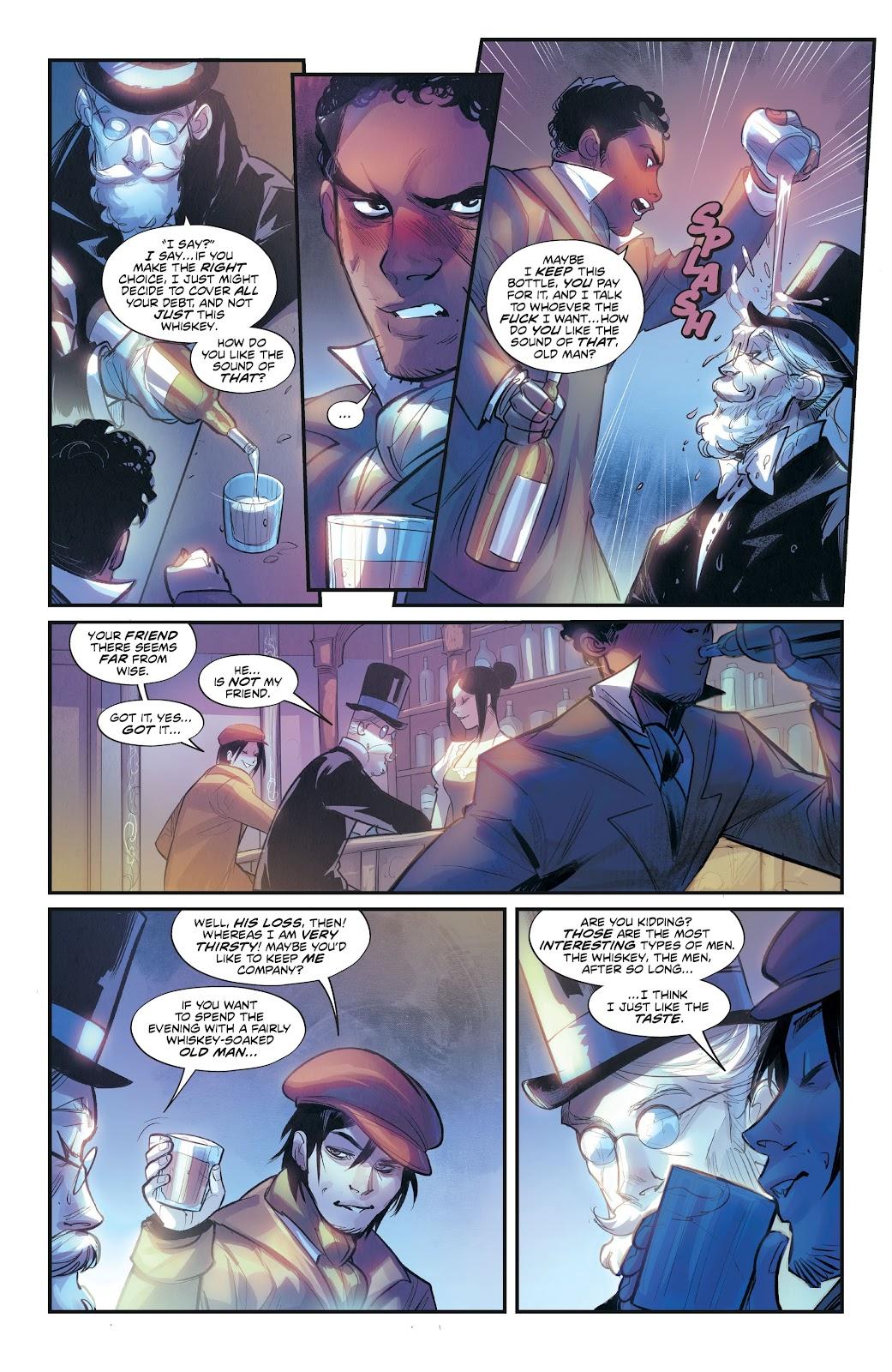 Read online Mirka Andolfo's Mercy comic -  Issue #3 - 23