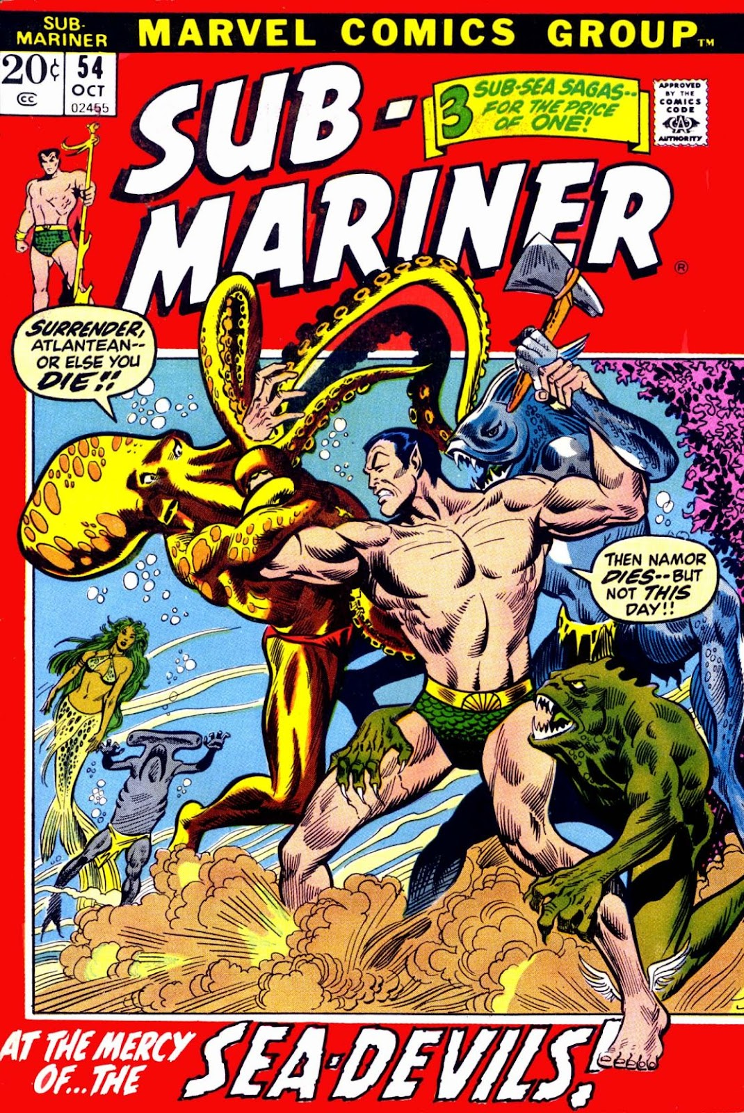 The Sub-Mariner 54 Page 1