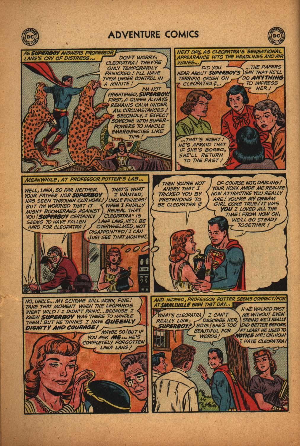 Read online Adventure Comics (1938) comic -  Issue #291 - 12