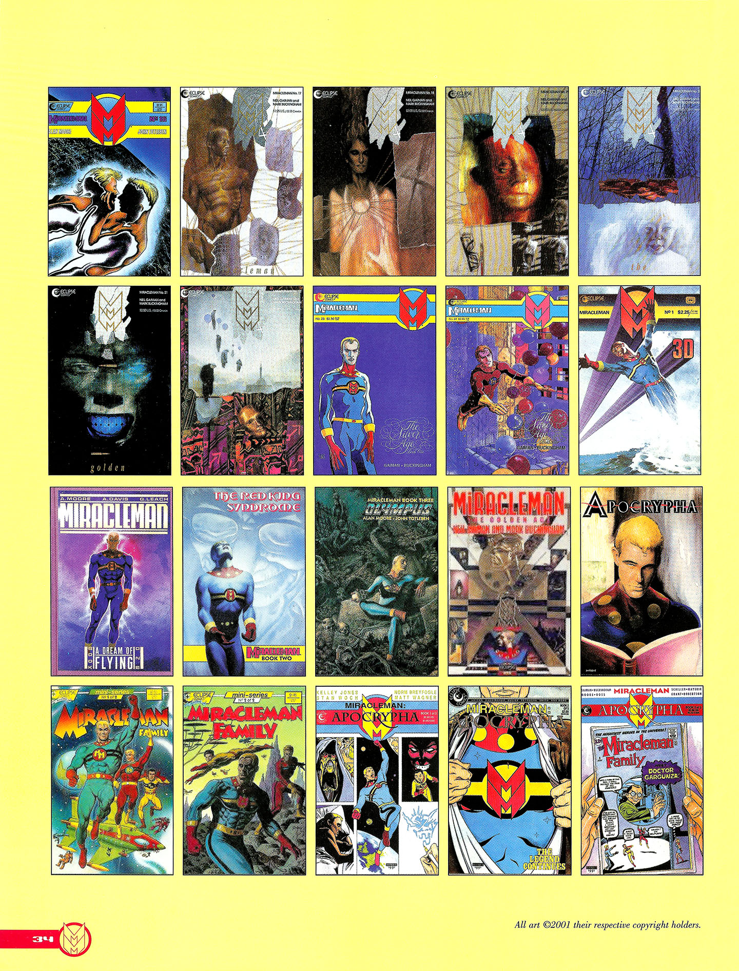 Read online Kimota!: The Miracleman Companion comic -  Issue # Full - 35