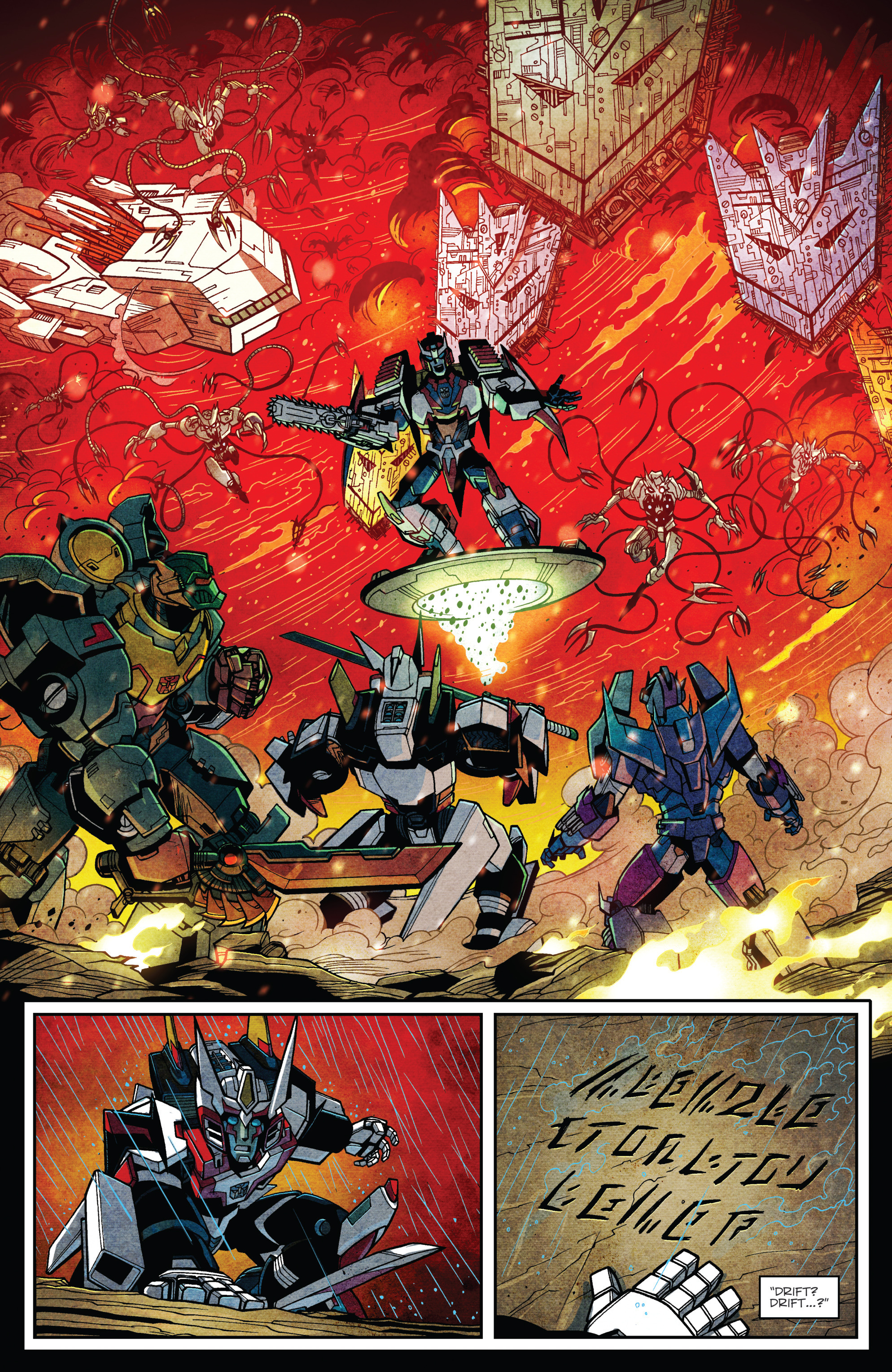 Read online Transformers: Lost Light comic -  Issue #1 - 19