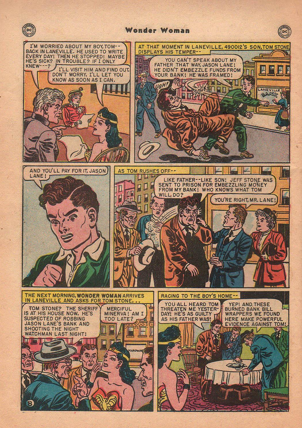 Read online Wonder Woman (1942) comic -  Issue #42 - 45