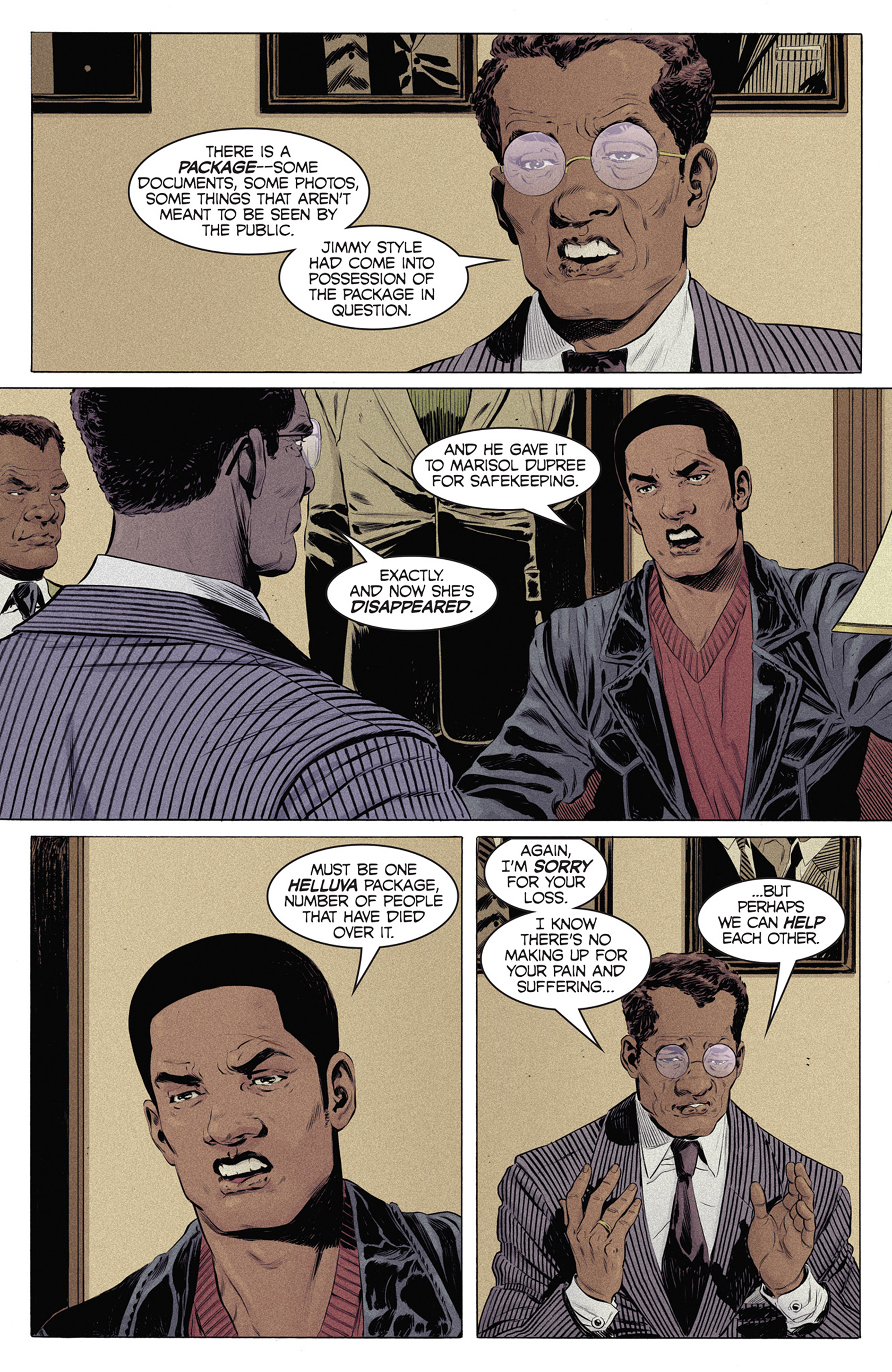 Read online Shaft comic -  Issue #4 - 15