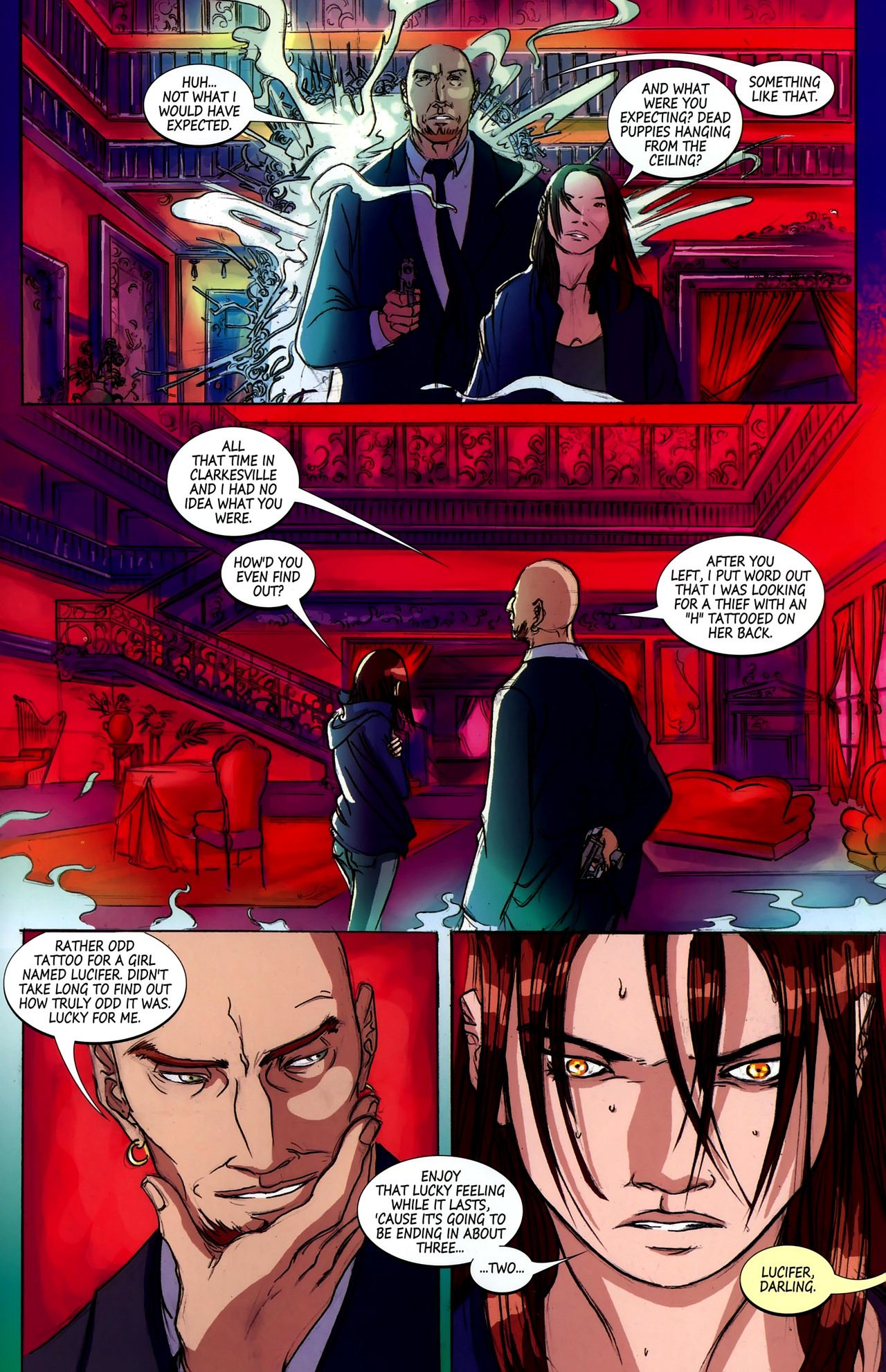 Read online Hexed comic -  Issue #2 - 24