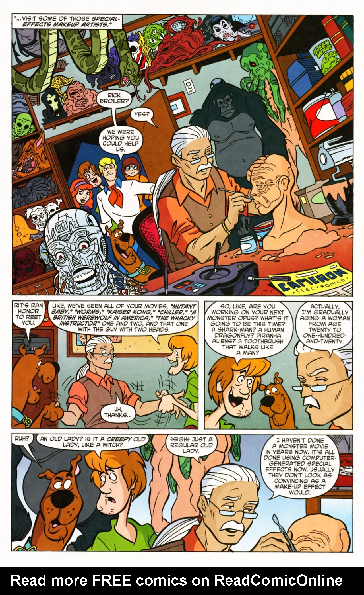 Read online Scooby-Doo (1997) comic -  Issue #145 - 10
