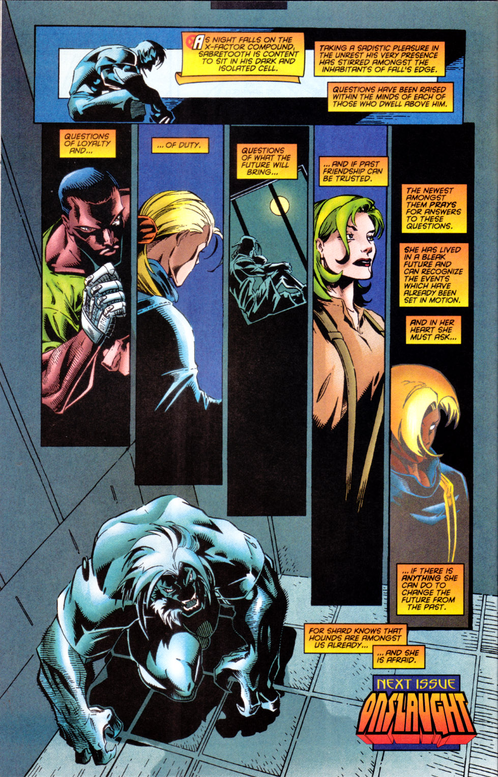 Read online X-Factor (1986) comic -  Issue #124 - 22