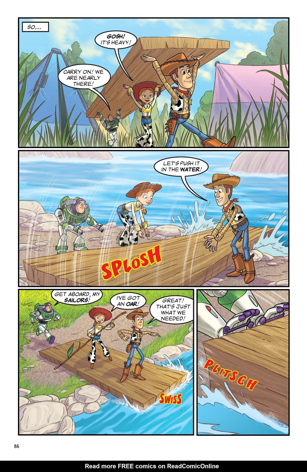 Read online DISNEY·PIXAR Toy Story Adventures comic -  Issue # TPB 1 (Part 1) - 86