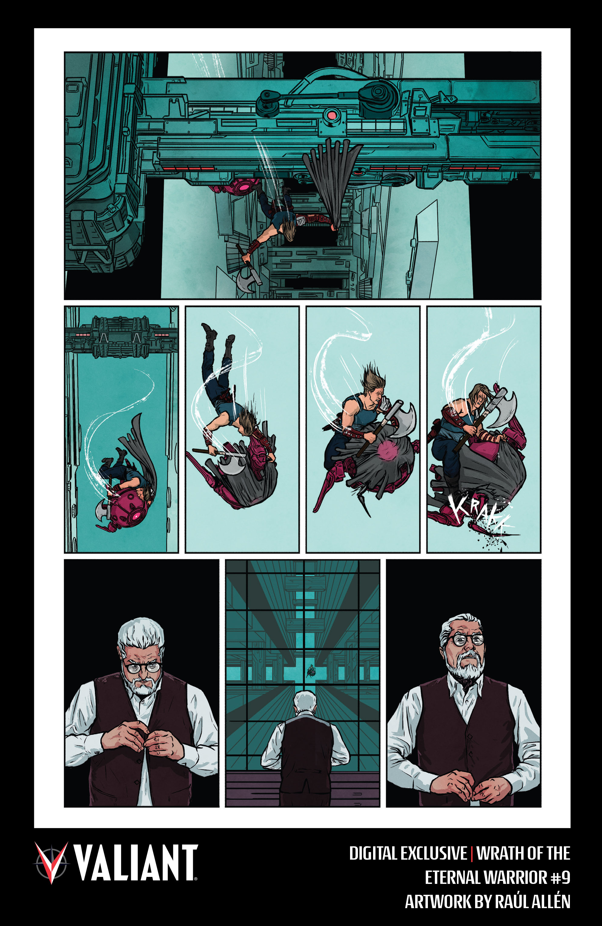 Read online Wrath of the Eternal Warrior comic -  Issue #9 - 36