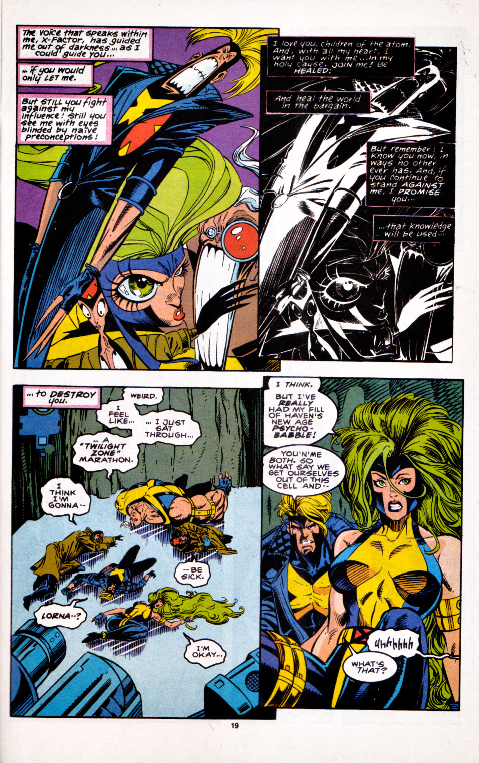 Read online X-Factor (1986) comic -  Issue #100 - 16