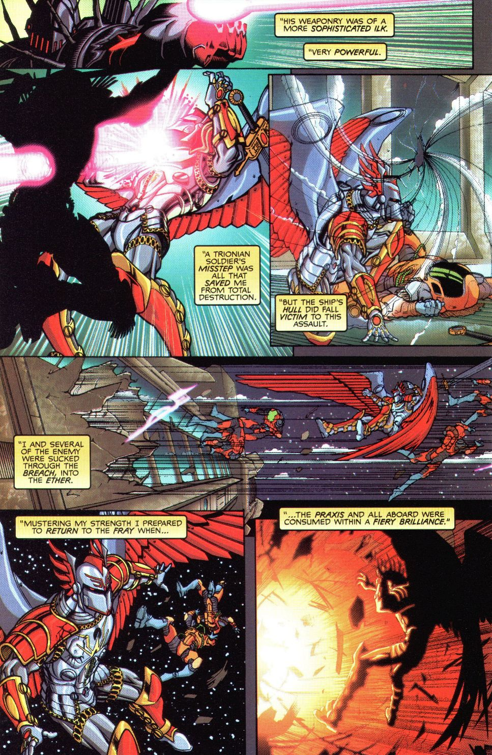 Read online Spaceknights (2000) comic -  Issue #1 - 16
