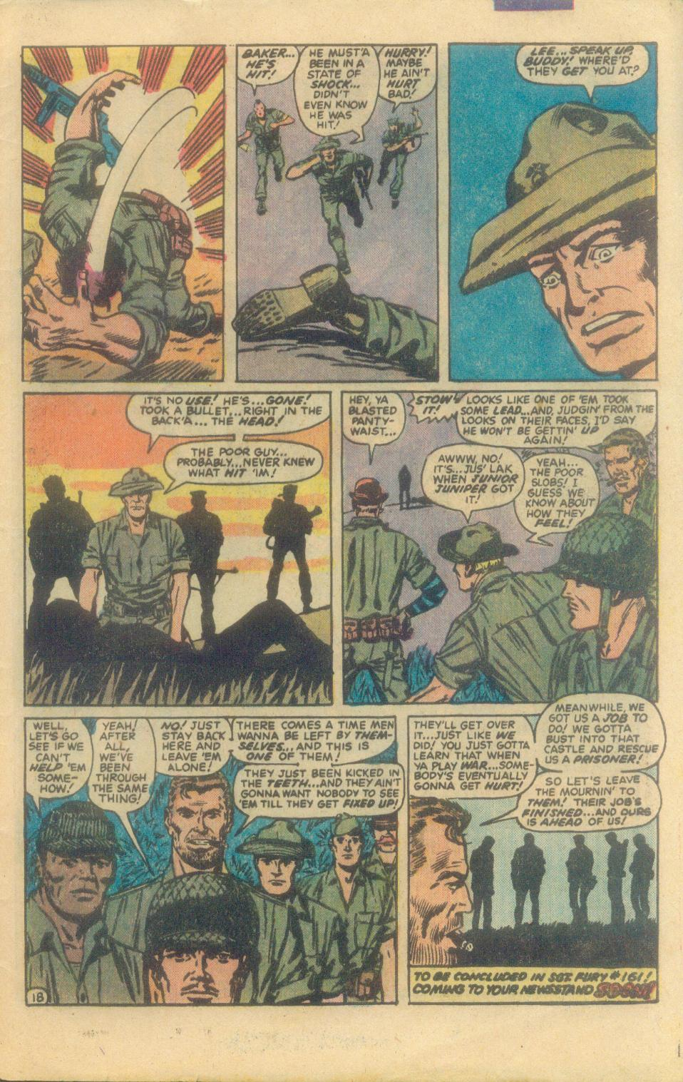 Read online Sgt. Fury comic -  Issue #160 - 33