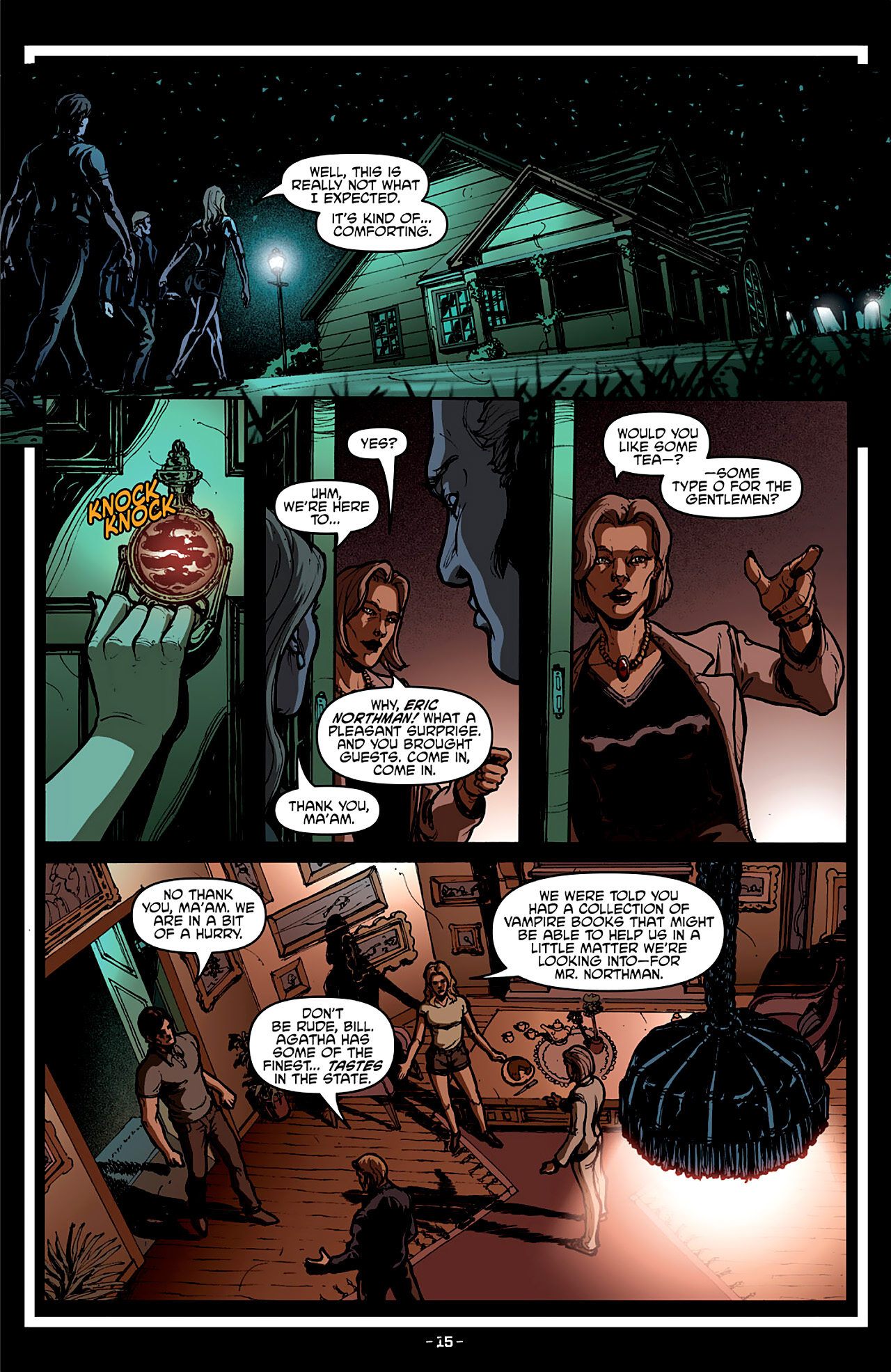 Read online True Blood: French Quarter comic -  Issue #4 - 20