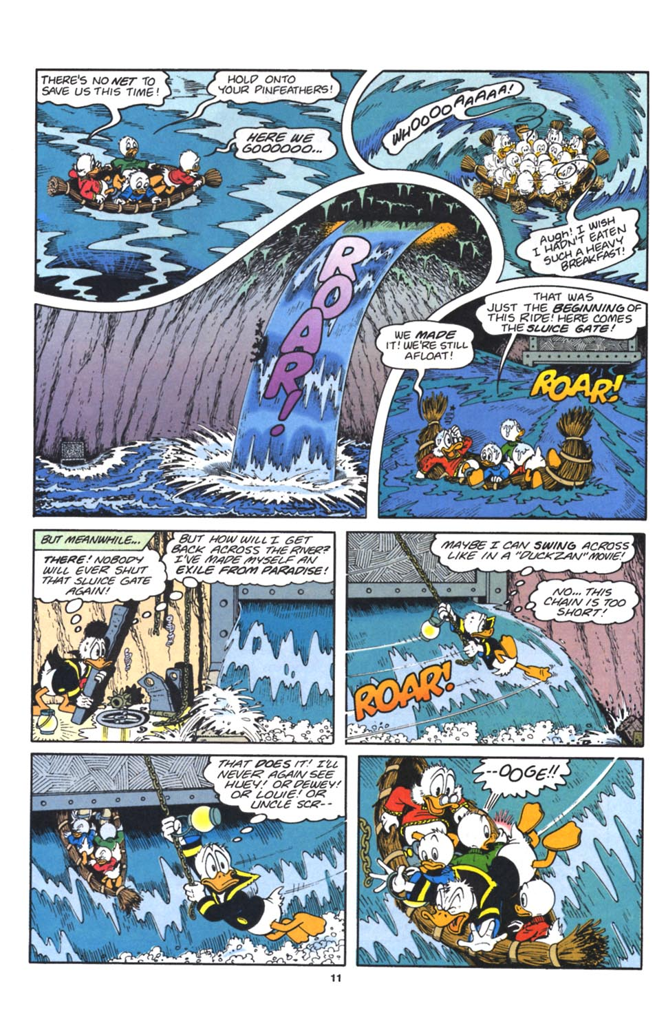 Read online Uncle Scrooge (1953) comic -  Issue #262 - 12