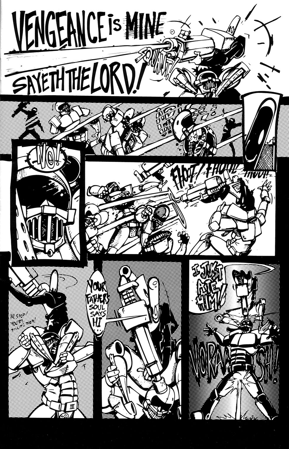 Read online Scud: The Disposable Assassin (1994) comic -  Issue #3 - 5