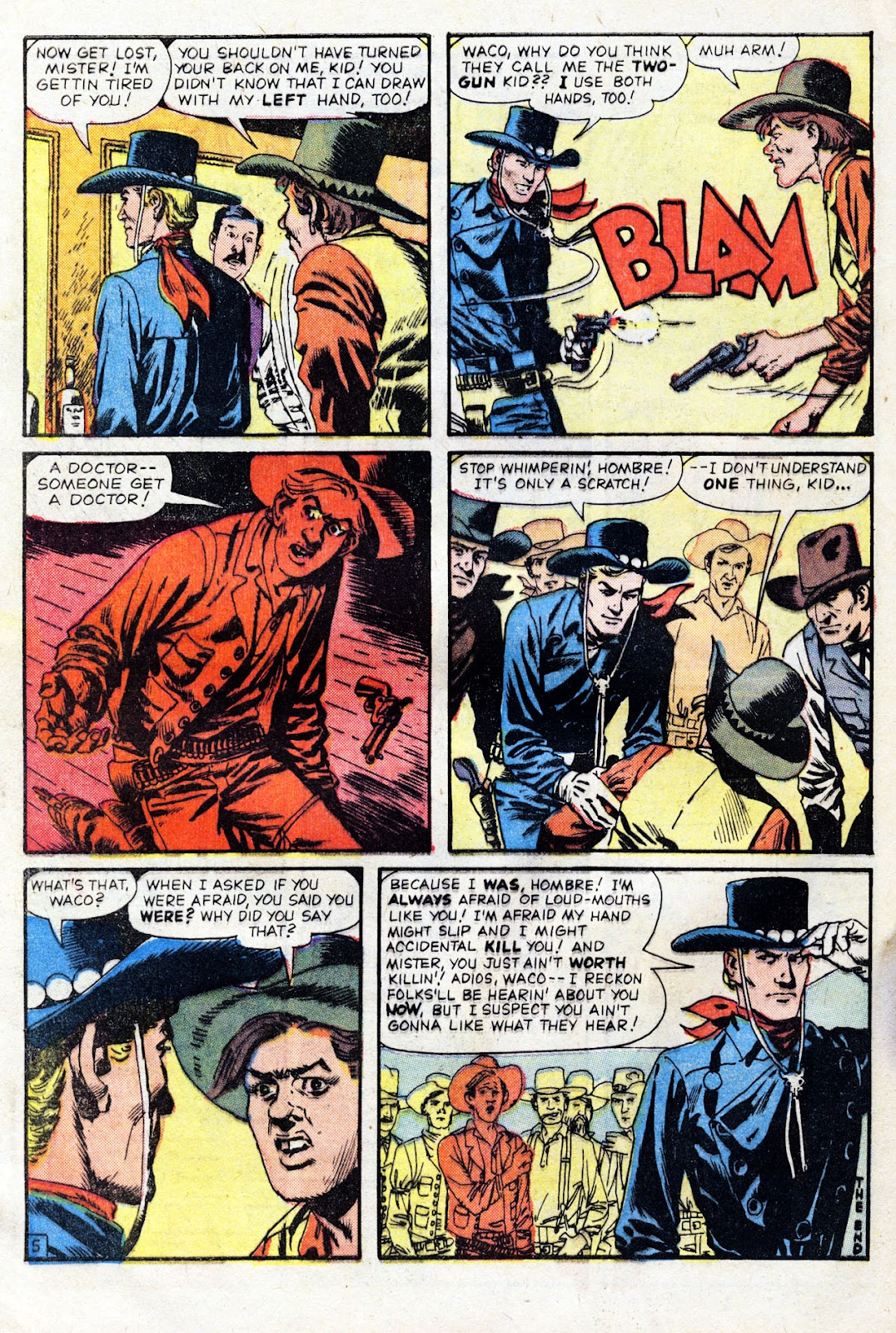 Gunsmoke Western issue 60 - Page 32