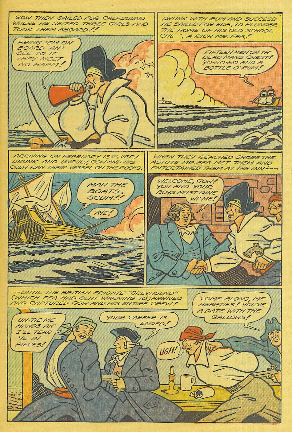 Read online Shadow Comics comic -  Issue #71 - 35