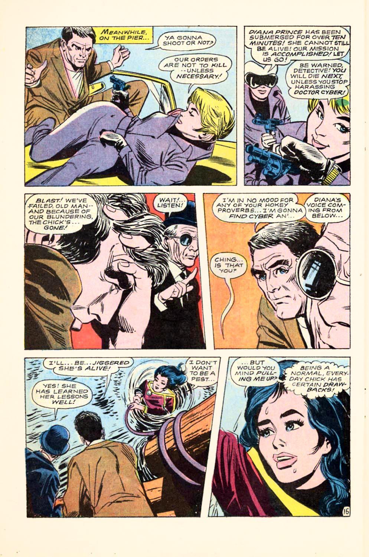 Read online Wonder Woman (1942) comic -  Issue #180 - 22