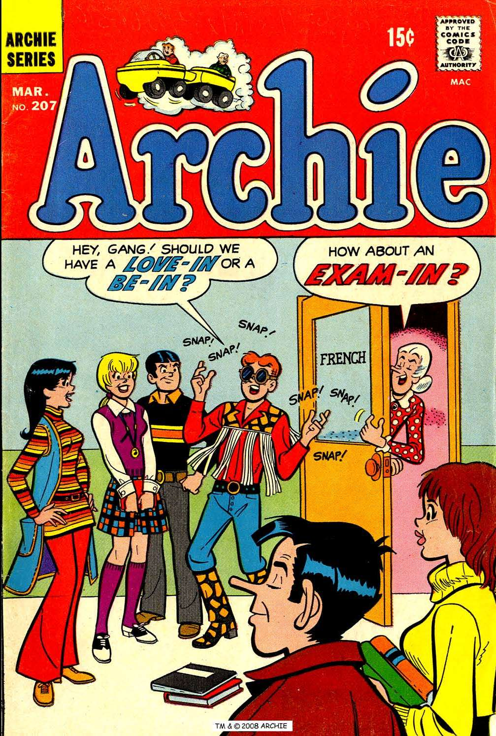 Read online Archie (1960) comic -  Issue #207 - 1