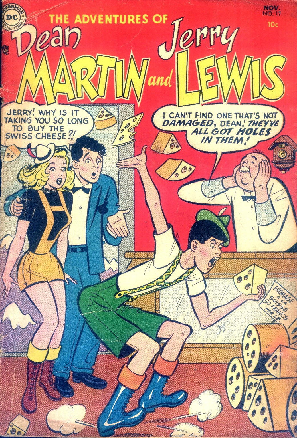 The Adventures of Dean Martin and Jerry Lewis 17 Page 1
