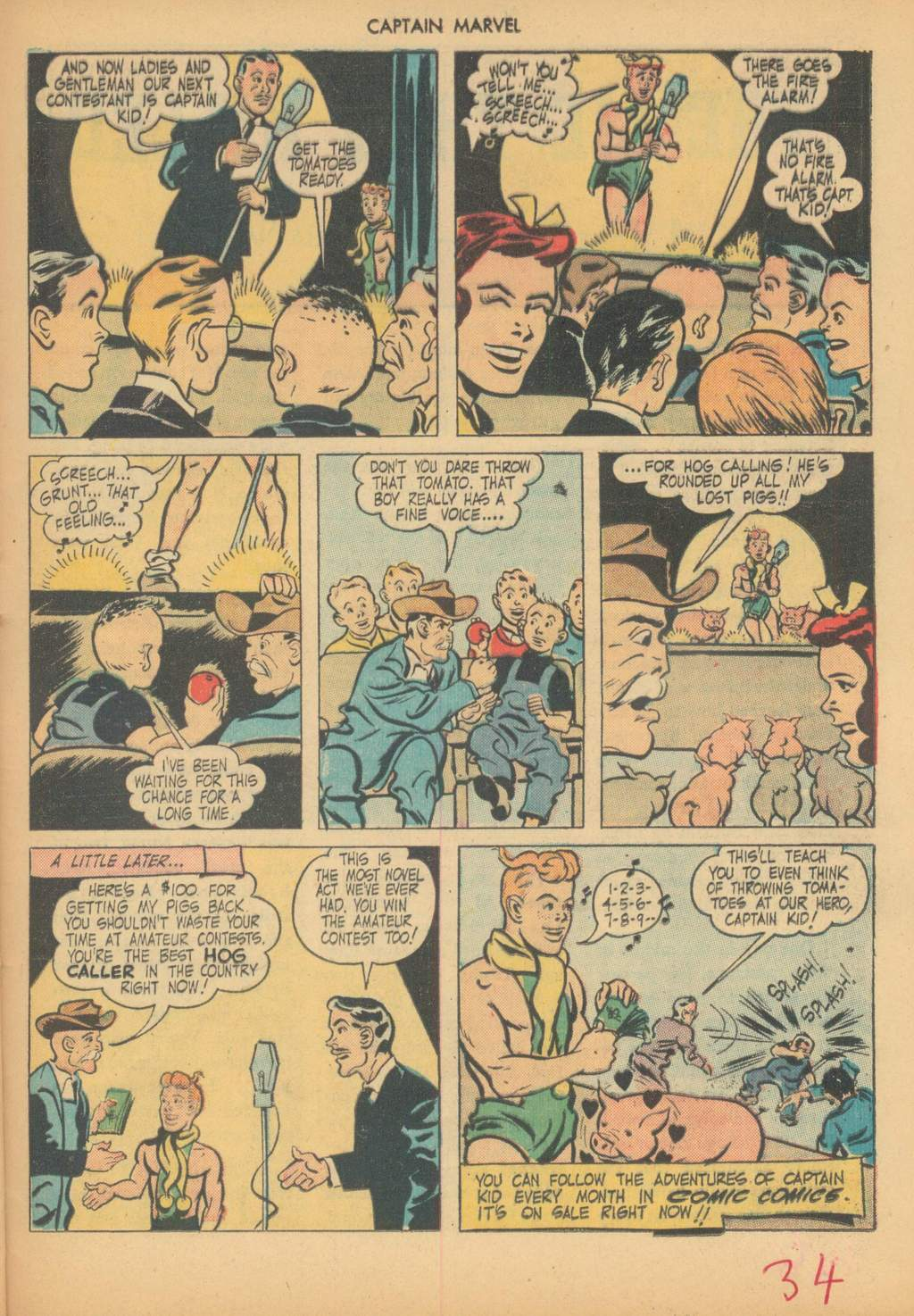 Captain Marvel Adventures issue 63 - Page 37