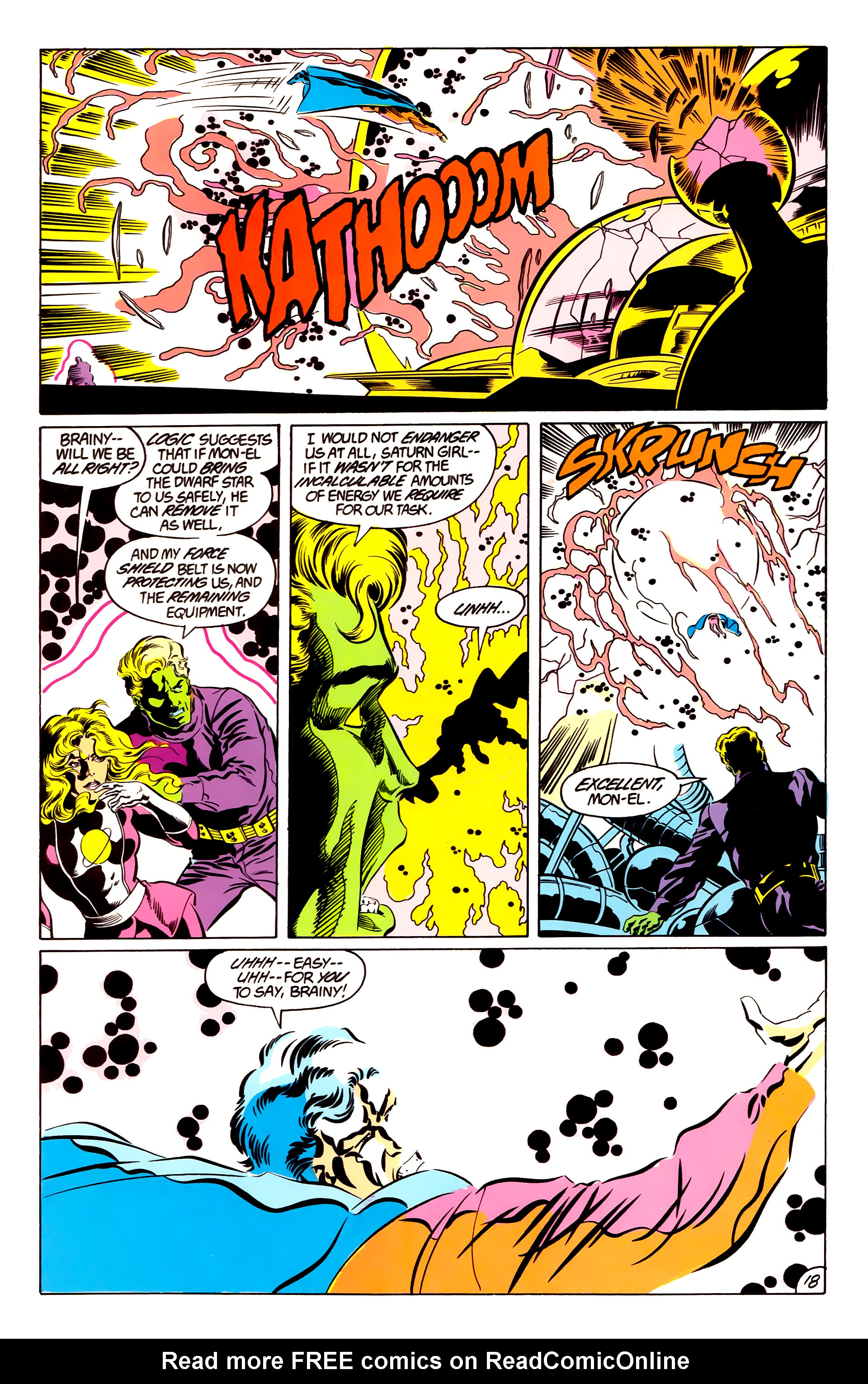 Legion of Super-Heroes (1984) 48 Page 18